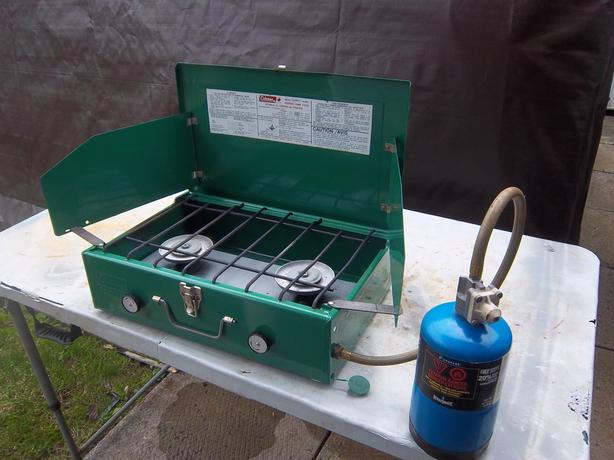 Coleman propane stove (various model and prices)
