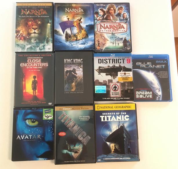 Fantasy DVD's
