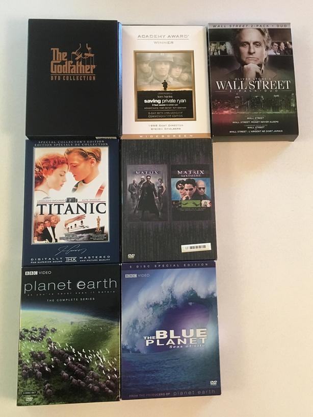 Multi Disc DVD Sets
