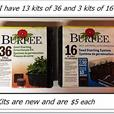 36 and 16 hole Burpee Seed Starting Kits ($5 for any kit)