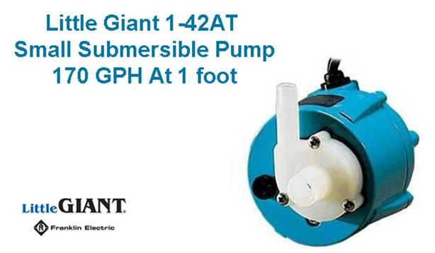 Submersible Pump ~ Little Giant 170 GPH