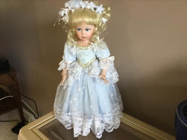 Porcelain doll Cinderella