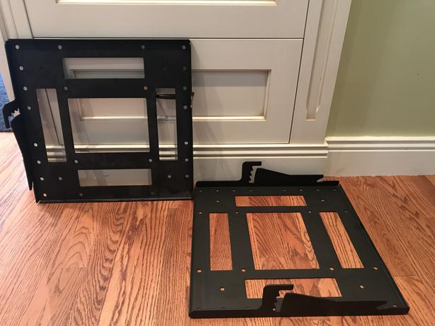 FREE: TWO Ceiling mount brackets for TV