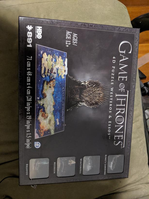 Game of Thrones 4D Puzzle brand new