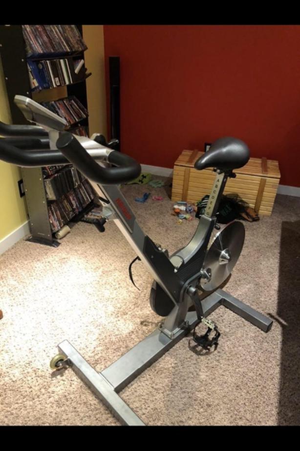 M3 Keiser spin bike