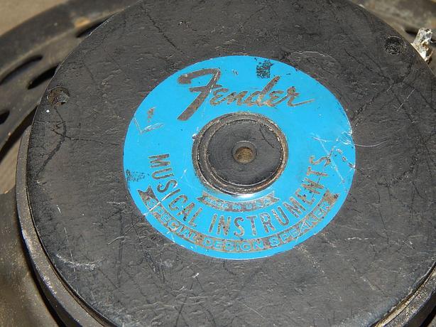 "1964 Oxford Fender 12"" 8 ohm Electric Guitar Amplifier Speaker"