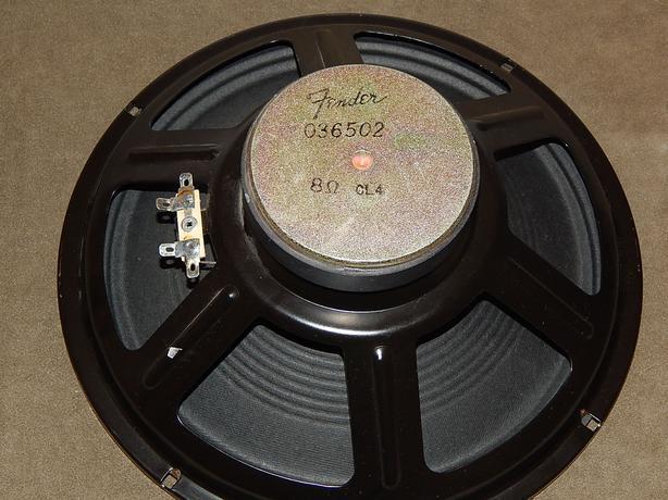 "Fender 10"" Ceramic Electric Guitar Amplifier Speaker"