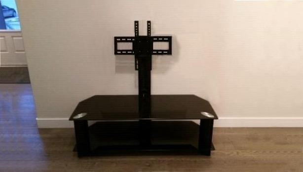 TV mount stand with mounting post