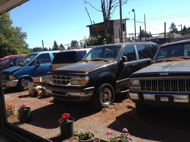 FOR TRADE: Paint your house for your unused vehicle?