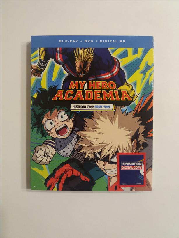 My Hero Academia: Season 2 Part 1 & Season 2 Part 2 on Blu-ray