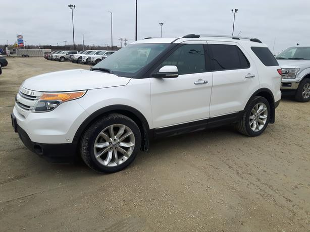 2011 Ford Explorer Limited 4WD - One Owner - Clean Carfax 7X016A