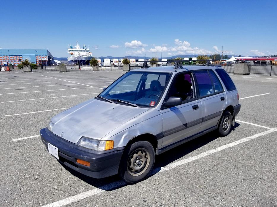 1989 Honda Civic Wagon - 5spd, Rare, GREAT Gas Mileage Victoria City, Victoria