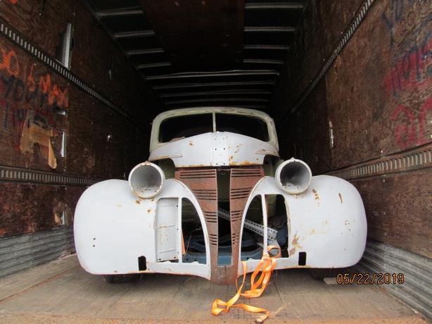 1939 project 5 window coupe pontiac