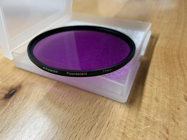 77mm Fluorescent filter
