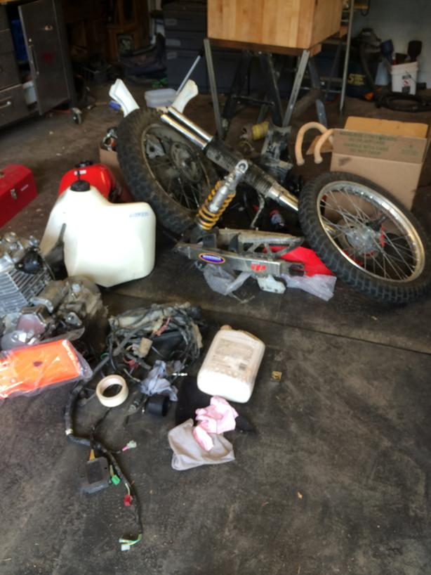 WANTED: Free Salvageable Motorcycles