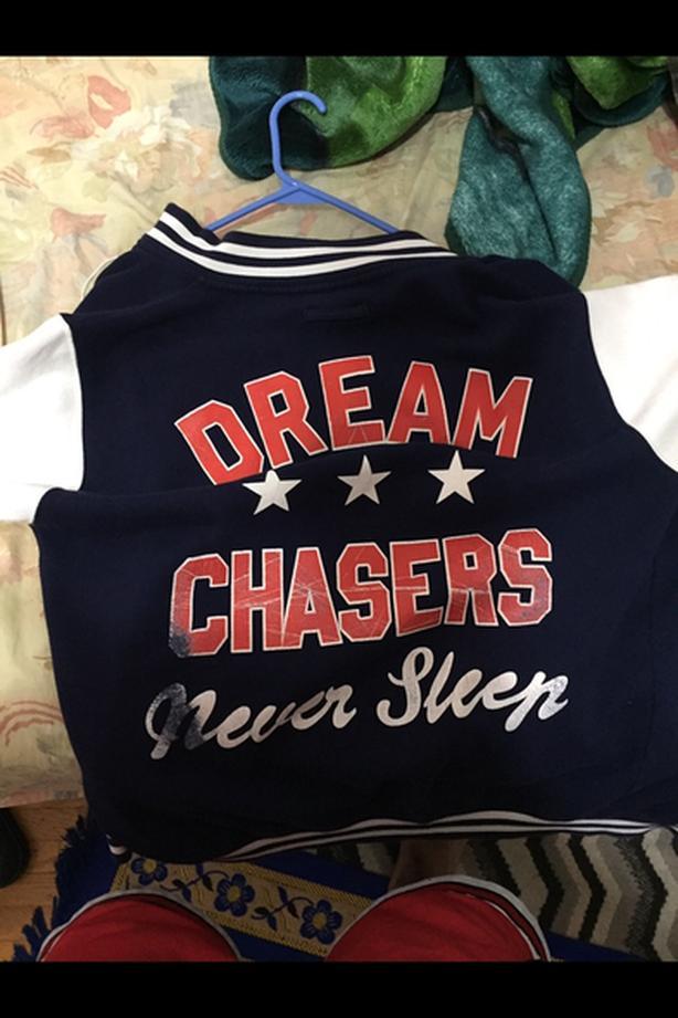 dream chaser jacket mens