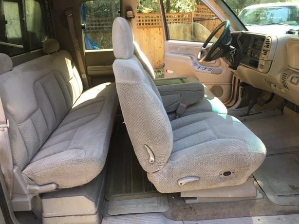 1996 GMC EXT. CAB