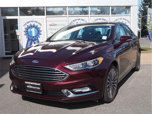 2017 Ford Fusion SE- NAV Back Up Cam Moonroof AWD