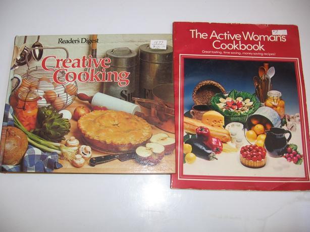 Cook Books , Square Dancing Books,