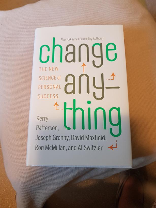 NEW CHANGE ANYTHING - BY THE AUTHORS OF CRUCIAL CONVERSATIONS