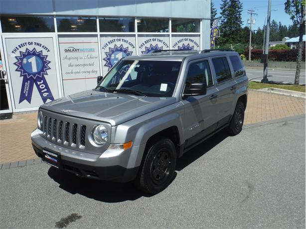 2016 Jeep Patriot SPORT Bluetooth, Auto, Tinted Windows