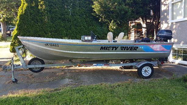  Log In needed $2,600 · 16ft Misty River Aluminum Boat