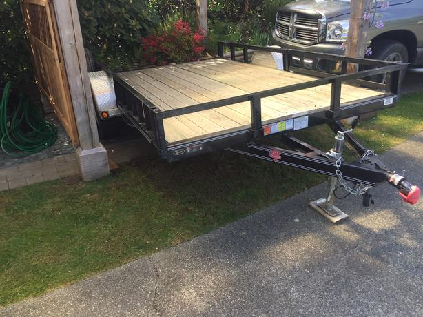 Trailers For Less >> 2 600 2018 Trailer With Less Than 200 Km