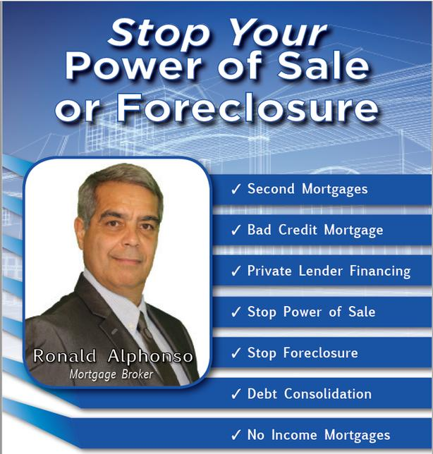 Stop Your Mississauga Power of Sale or Foreclosure