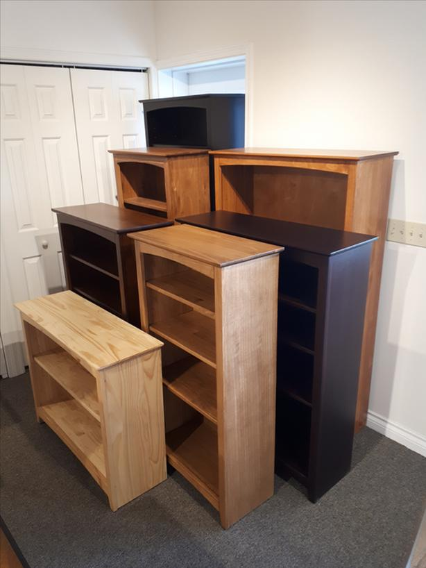 Solid Wood Bookcases - $265 and Up