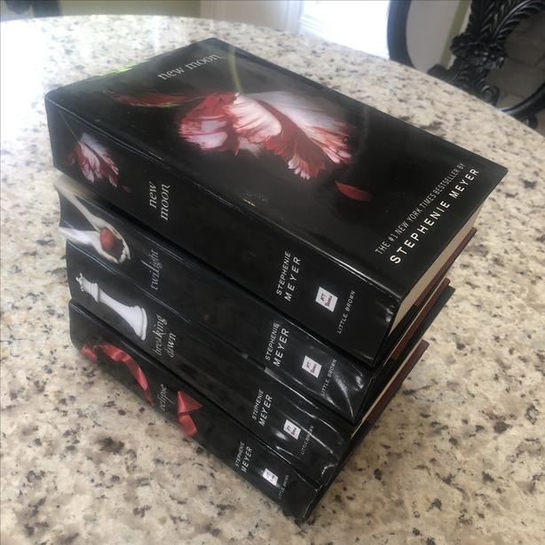 Four Hardcover Stephenie Meyer Boods