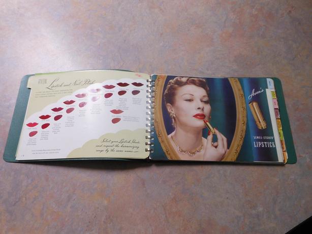 1949 Avon catalog, antique catalog, cosmetics, vintage