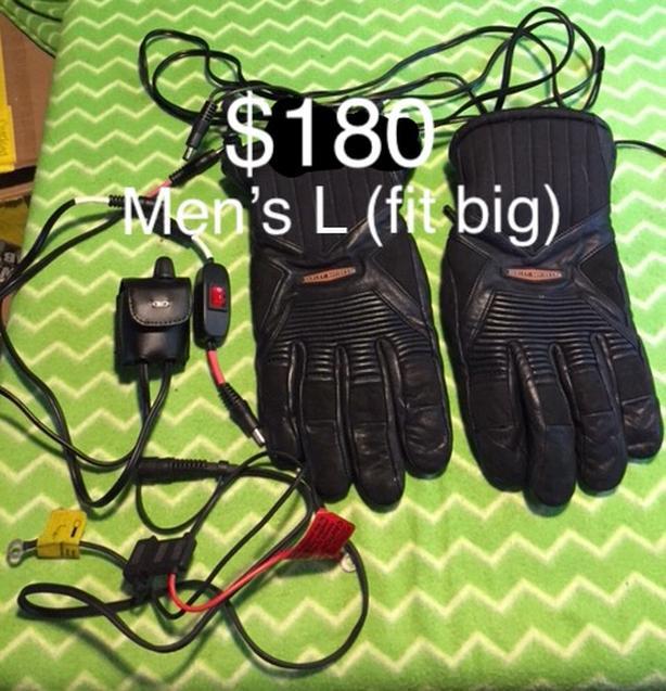 Men's Large Heated Gloves (fit big)