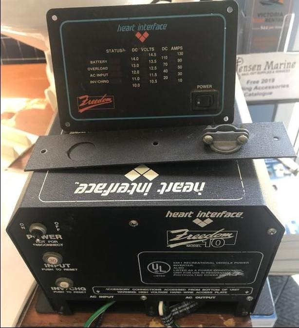  Log In needed $125 · Heart Interface Freedom 10 Inverter Battery Charger  (consignment)