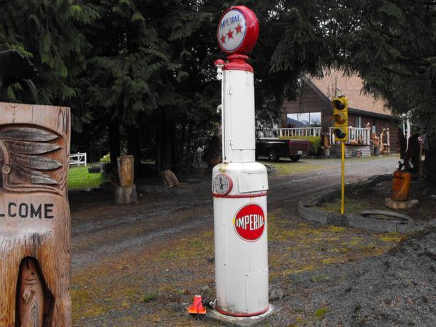 Gilbarco Gas Pump Outside Victoria, Victoria