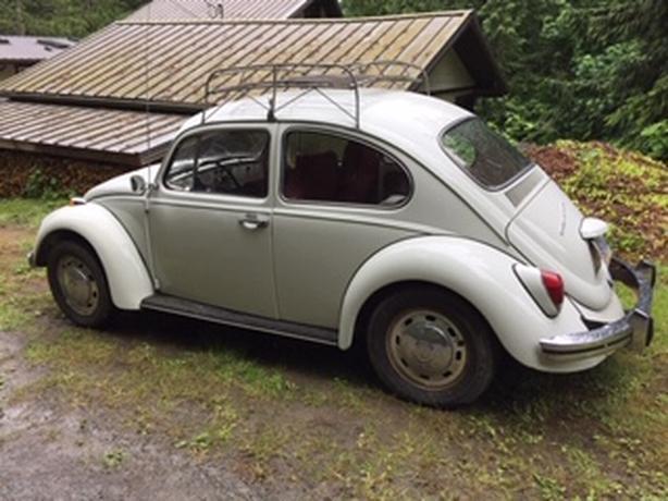 1968 VW Bug Outside Victoria, Victoria