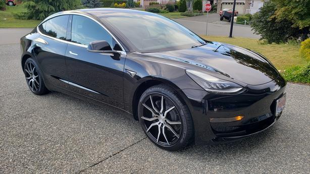 Commute in a Tesla Model 3