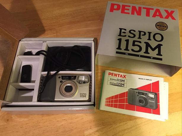 Pentax ESPIO 115 variable zoom camera