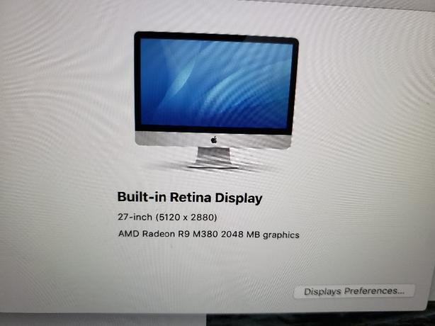 27 imac 5K upgraded ram( updated price)