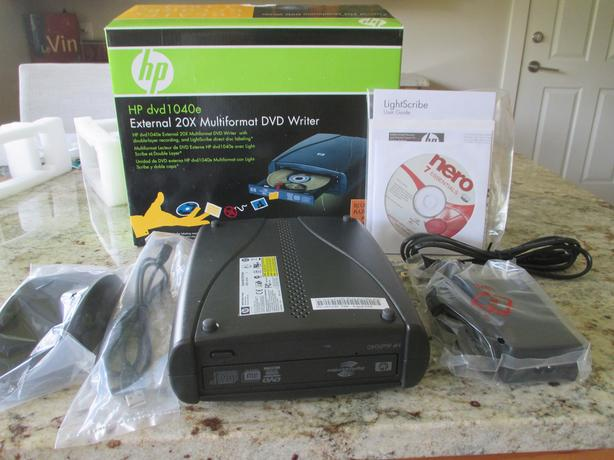 HP DVD1040E DVD WRITER DRIVERS FOR PC