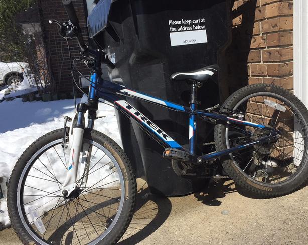 """20"""" Trek bike- GT60"""