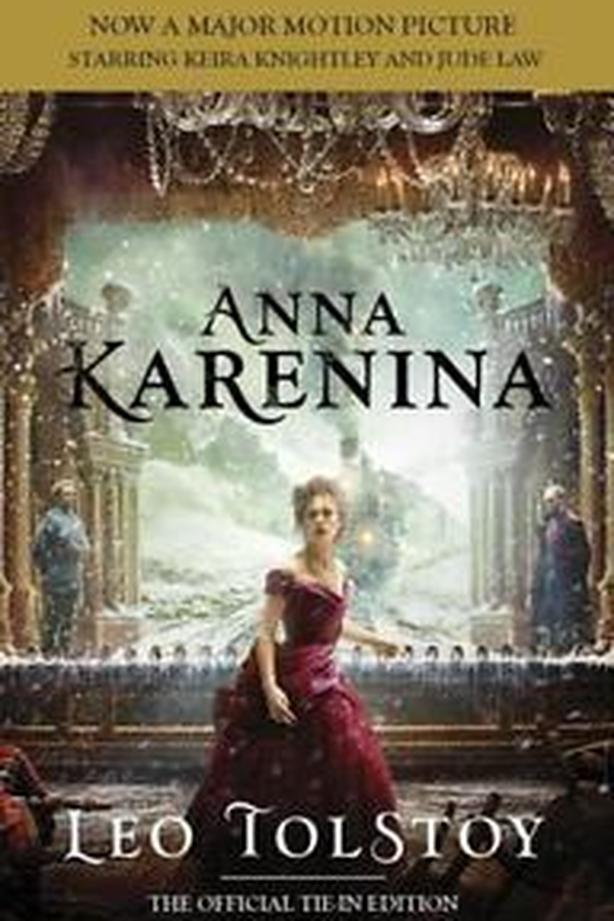 Anna Karenina by Leo Tolstoy softcover book, Movie Tie-in Edition