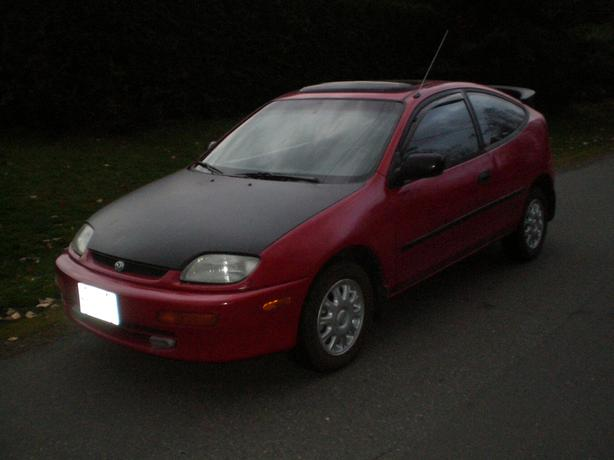 1995 Mazda 323C Protege hatchback ONLY 190km VERY RELIABLE GOOD ON FULE