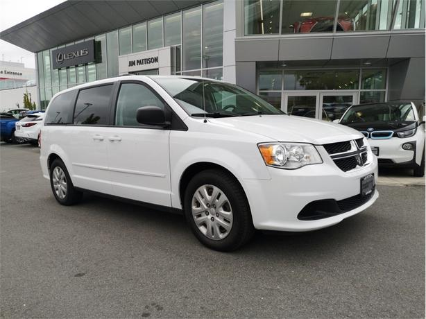 2016 Dodge Grand Caravan SE/SXT No Accidents Local B.C.