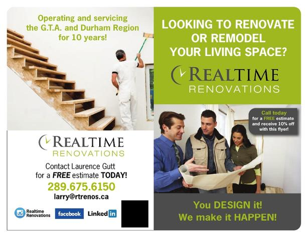 Realtime Renovations and Contracting