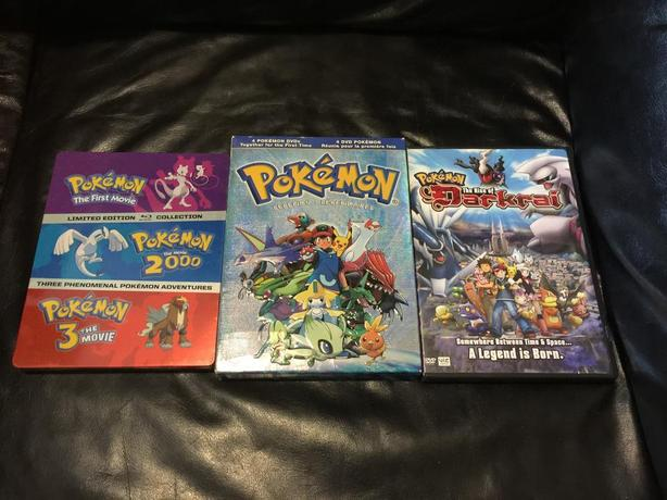Pokemon Movies On Dvd And Blu Ray All For 40 Esquimalt View