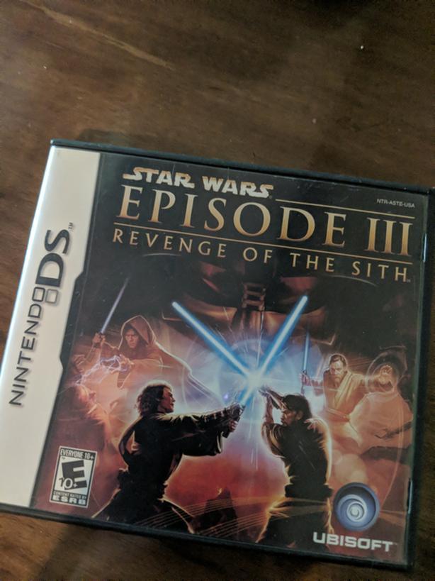 Star Wars Episode 3 Revenge Of The Sith Nintendo Ds Victoria City Victoria Mobile