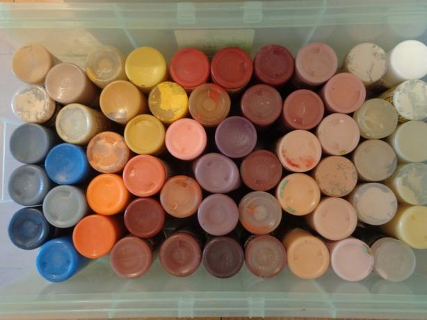 Acrylic craft paints