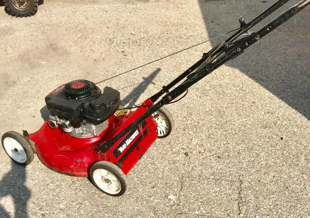 Gas Powered Lawnmower