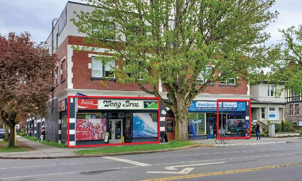 RETAIL SPACES FOR LEASE - 1021 COOK STREET