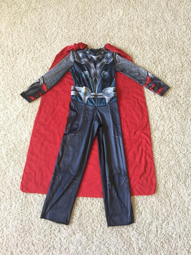 Thor Costume - Sz. 4-6